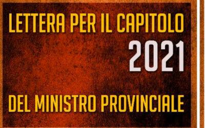 Lettera del Ministro provinciale, fra' Paolo Quaranta 02.06.2021